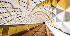 UNCG Pedestrial Tunnel